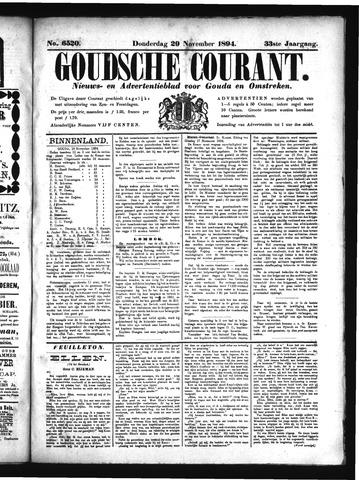 Goudsche Courant 1894-11-29