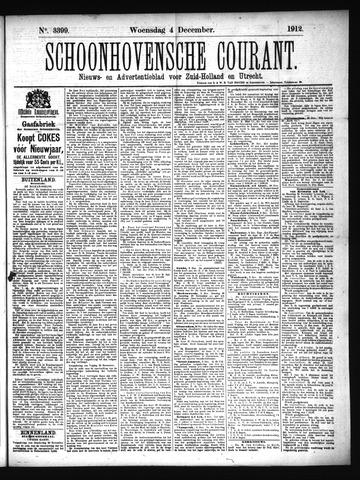 Schoonhovensche Courant 1912-12-04