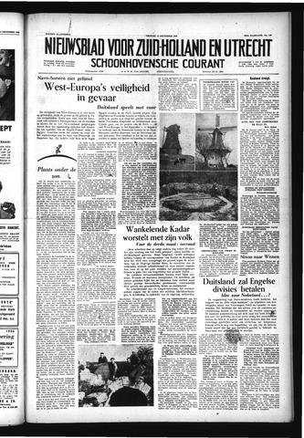 Schoonhovensche Courant 1956-12-14
