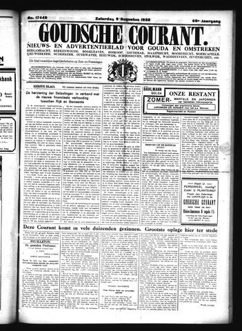 Goudsche Courant 1930-08-09