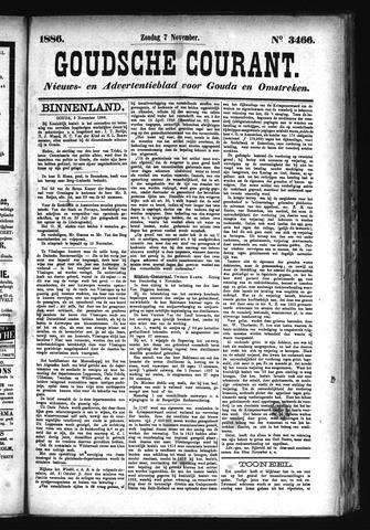 Goudsche Courant 1886-11-07