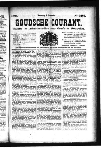 Goudsche Courant 1885-09-09
