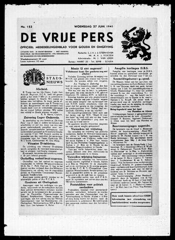 De Vrije Pers 1945-06-27