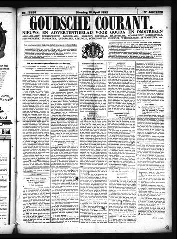 Goudsche Courant 1932-04-12