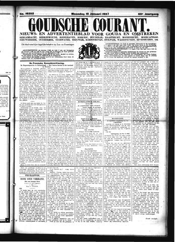 Goudsche Courant 1927-01-10