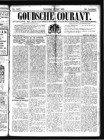 Goudsche Courant 1920-07-22