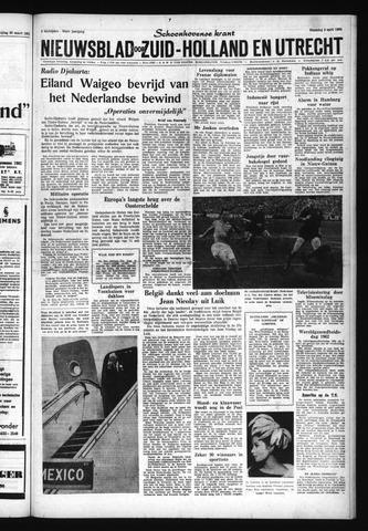 Schoonhovensche Courant 1962-04-02