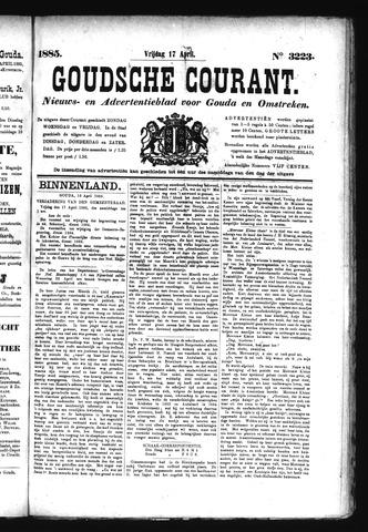 Goudsche Courant 1885-04-17