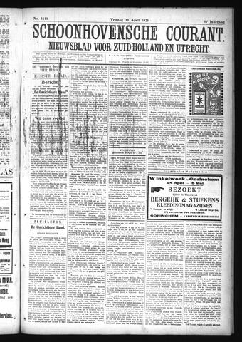 Schoonhovensche Courant 1926-04-23