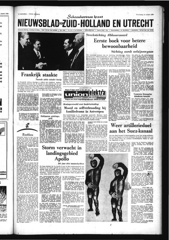 Schoonhovensche Courant 1969-03-12