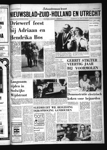 Schoonhovensche Courant 1974-06-07