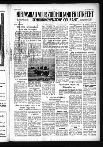 Schoonhovensche Courant 1955-03-07