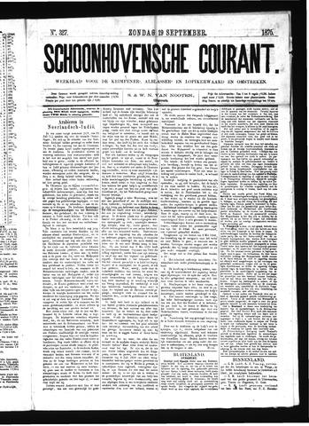Schoonhovensche Courant 1875-09-19