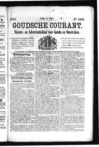 Goudsche Courant 1874-03-22