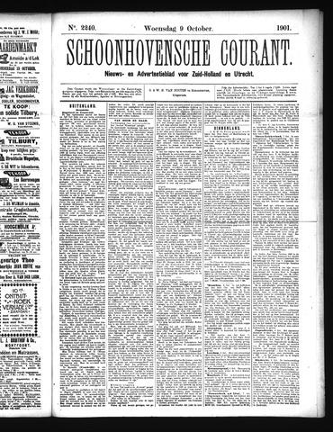 Schoonhovensche Courant 1901-10-09