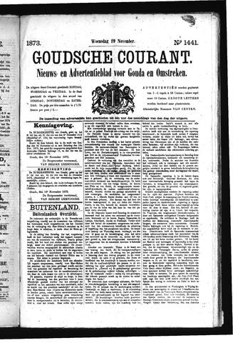 Goudsche Courant 1873-11-19