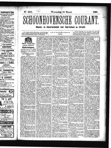Schoonhovensche Courant 1899-03-22