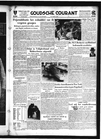 Goudsche Courant 1956-03-27