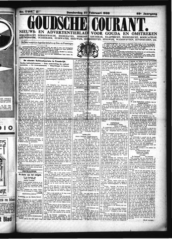Goudsche Courant 1930-02-27