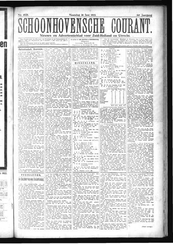Schoonhovensche Courant 1922-06-26
