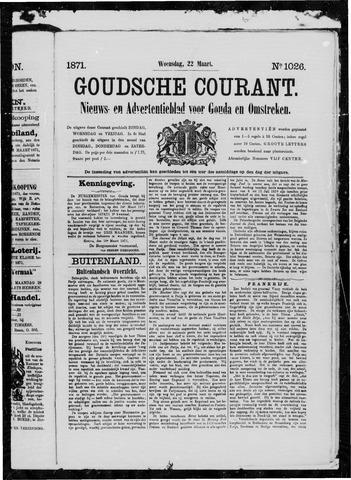 Goudsche Courant 1871-03-22