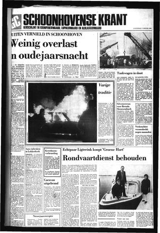 Schoonhovensche Courant 1986
