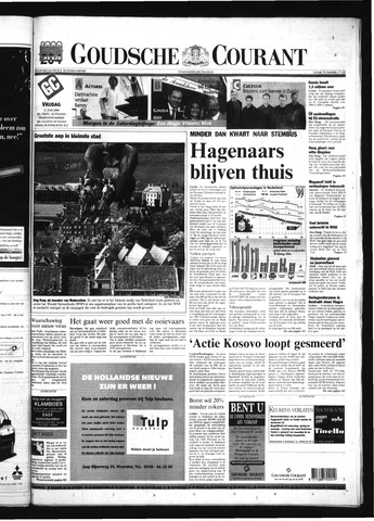 Goudsche Courant 1999-06-11