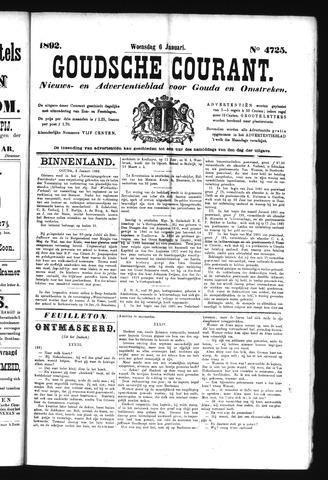 Goudsche Courant 1892-01-06