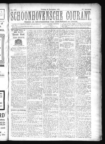 Schoonhovensche Courant 1921-12-30