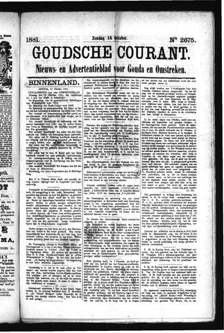 Goudsche Courant 1881-10-16