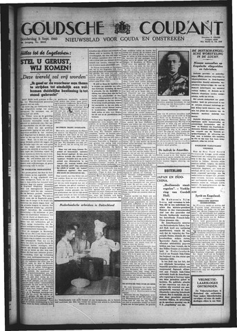 Goudsche Courant 1940-09-05