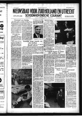 Schoonhovensche Courant 1958-11-17