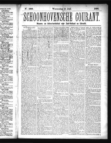 Schoonhovensche Courant 1896-07-15