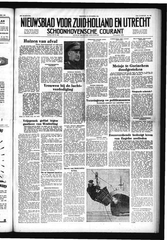 Schoonhovensche Courant 1952-11-19
