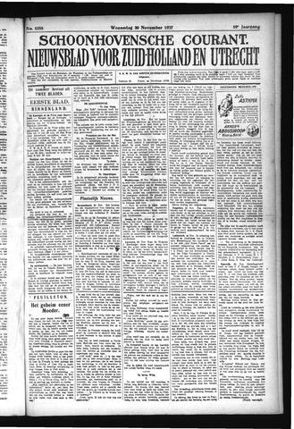 Schoonhovensche Courant 1927-11-30