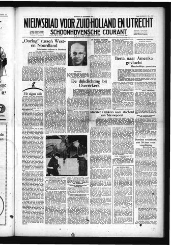 Schoonhovensche Courant 1953-09-21