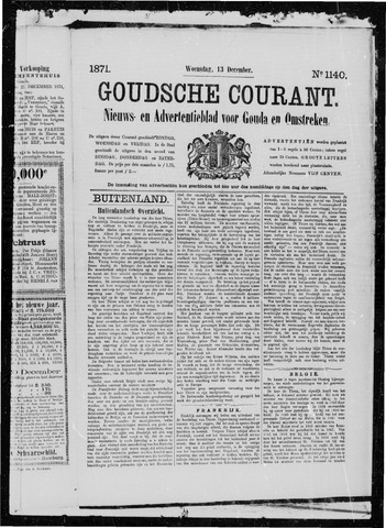 Goudsche Courant 1871-12-13