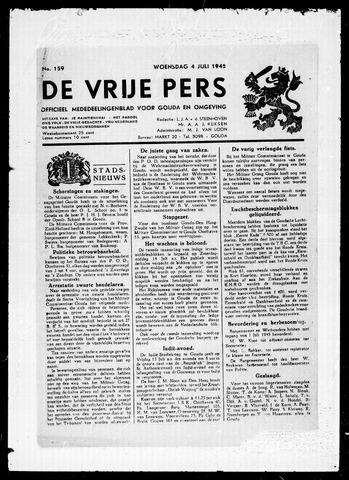 De Vrije Pers 1945-07-04