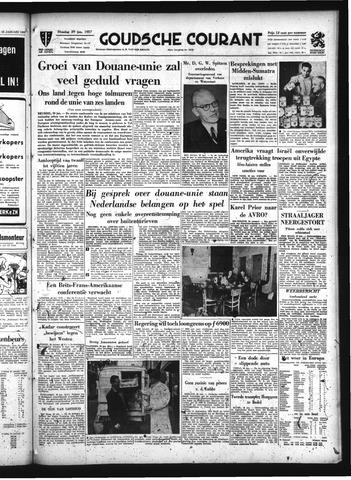 Goudsche Courant 1957-01-29
