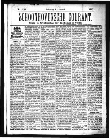 Schoonhovensche Courant 1907