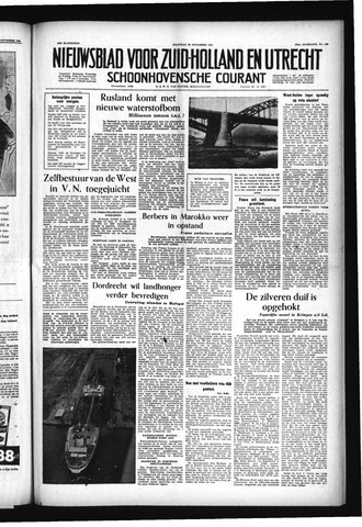 Schoonhovensche Courant 1955-11-28