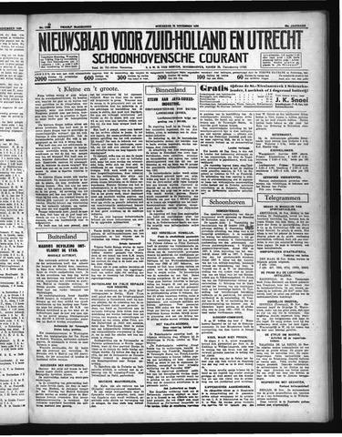 Schoonhovensche Courant 1936-11-25