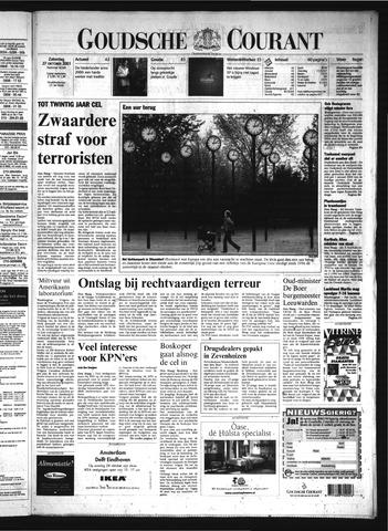 Goudsche Courant 2001-10-27