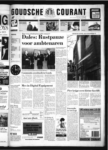 Goudsche Courant 1992-03-28