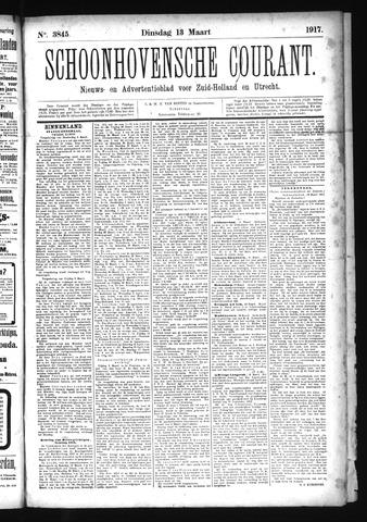 Schoonhovensche Courant 1917-03-13