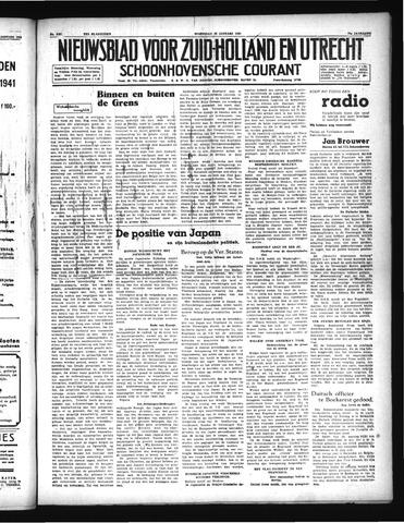 Schoonhovensche Courant 1941-01-22