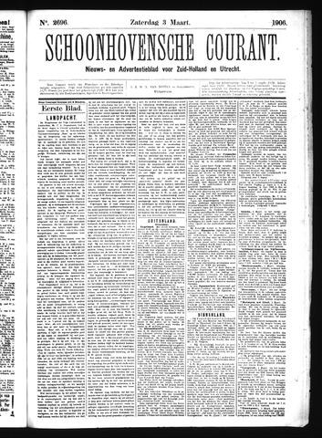 Schoonhovensche Courant 1906-03-03