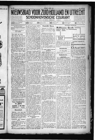 Schoonhovensche Courant 1930-04-04