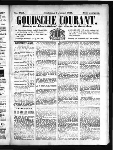 Goudsche Courant 1896-01-09