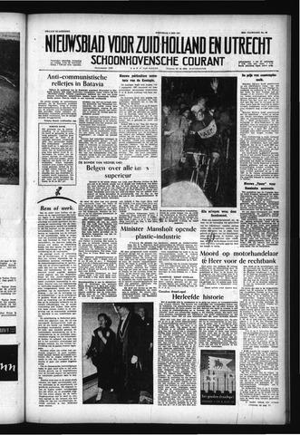 Schoonhovensche Courant 1957-05-08